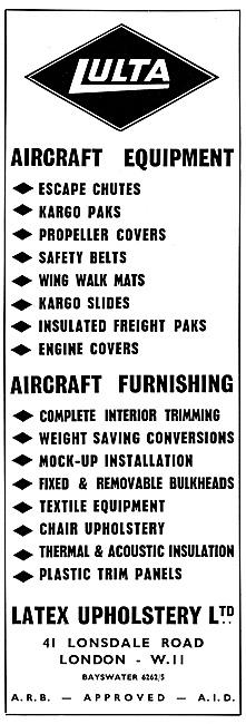 Latex  LULTA  Aircraft Equipment