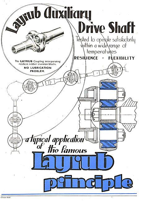 Layrub Auxiliary Drive Shaft