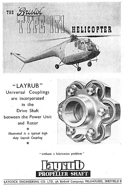 Laycock Engineering Layrub Shafts & Couplings 1947