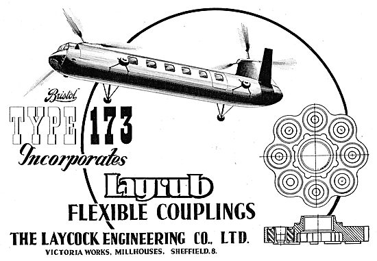 Laycock Engineering Layrub Shafts & Flexible Couplings