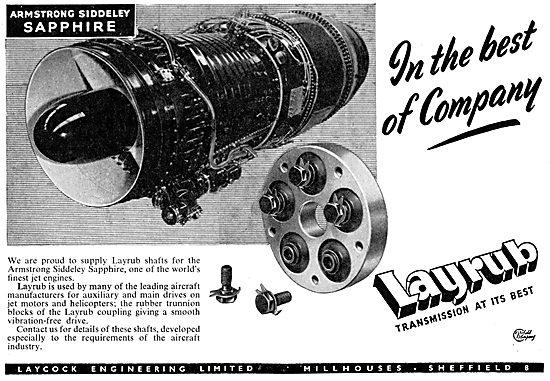 Laycock Engineering Layrub Shafts & Couplings