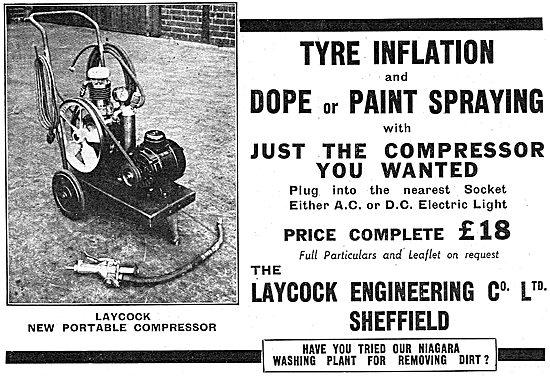 Laycock Engineering Portable Air Compressor 1937