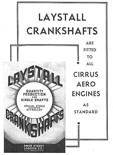 Laystall Aero Engine Crankshafts