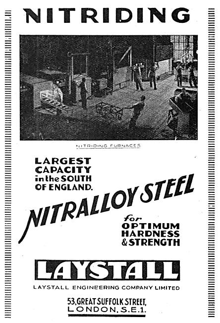 Laystall Nitriding - Nitralloy Steel