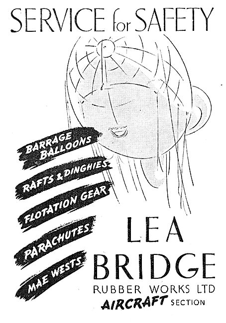Lea Bridge Rubber Goods: Barrage Balloons Parachutes Mae Wests