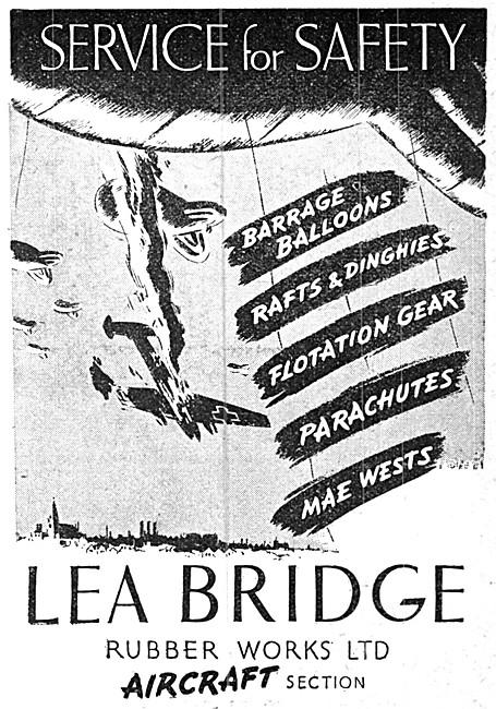 Lea Bridge Rubber Products Flotation Gear, Balloons & Parachutes