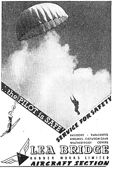 Lea Bridge Rubber Works - Parachutes