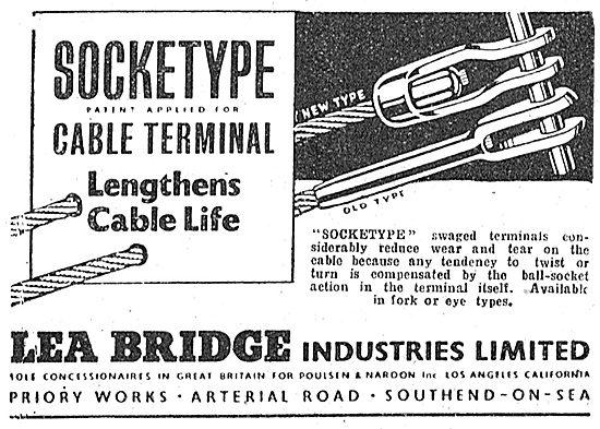 Lea Bridge Cable Terminals & Swaged Ends