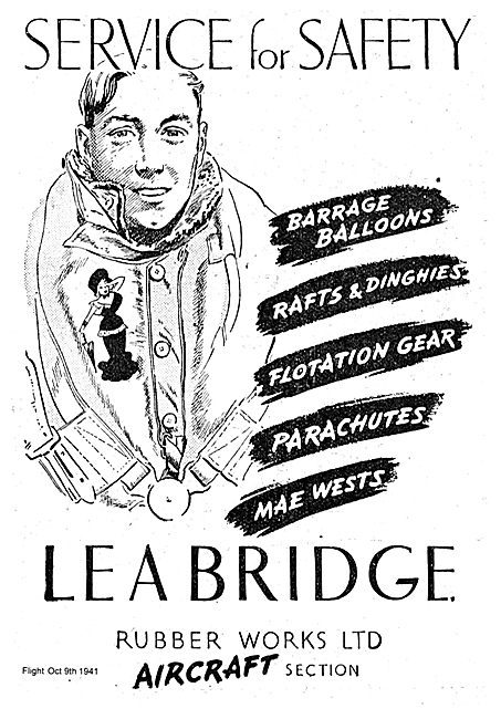Lea Bridge Rubber Works Aircraft Section