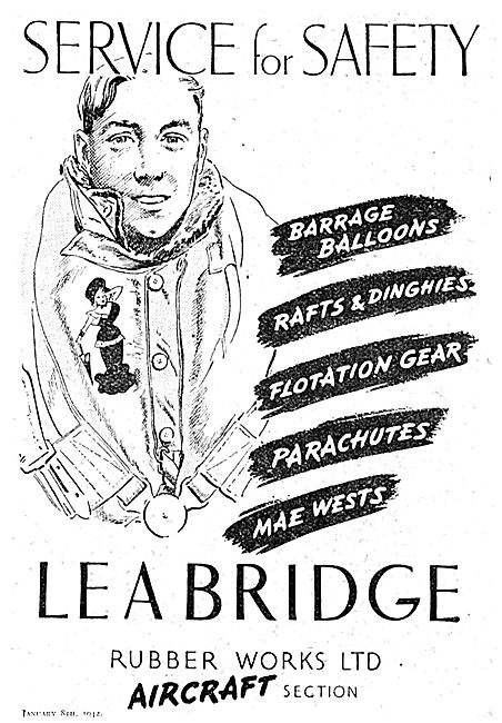 Lea Bridge Parachutes & Mae Wests