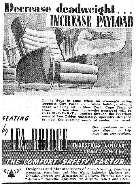 Lea Bridge Aircraft Seating