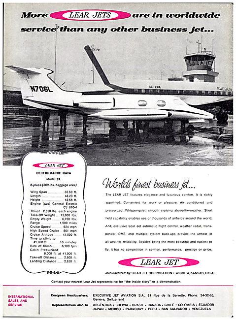 Lear Jet Model 24
