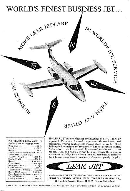 Lear Jet 24