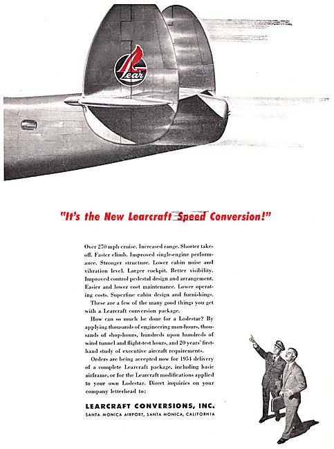 Learcraft Lockheed Lodestar Conversions