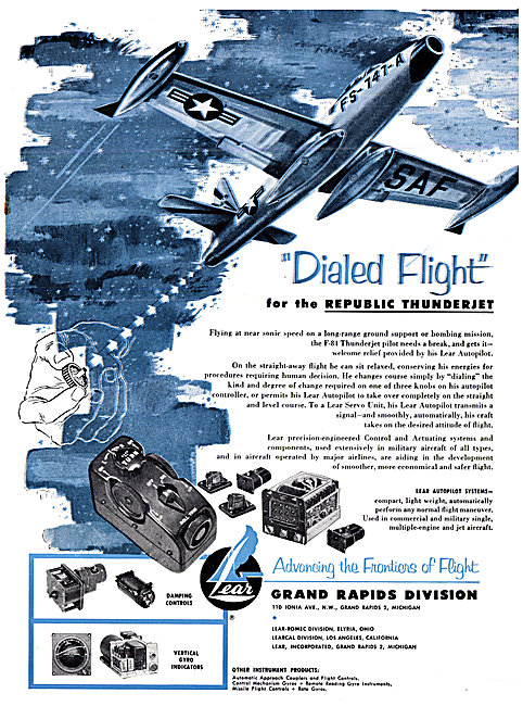 Lear Avionics & Controls 1954