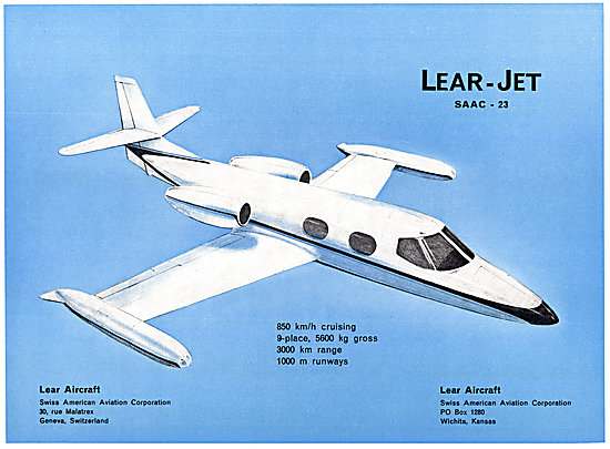 Lear Jet - Learjet SAAC 23