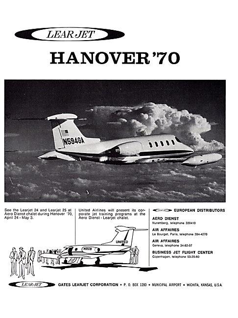Learjet 24 - Learjet 25
