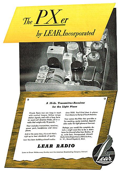 Lear Radion VHF Transmitter Receiver