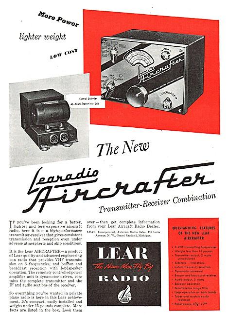 Lear Aircrafter Radio