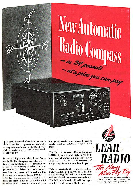 Lear Aircraft Radio & Radio Compass