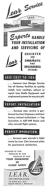 Lear Avionics - Lear Radio & Navigation Equipment