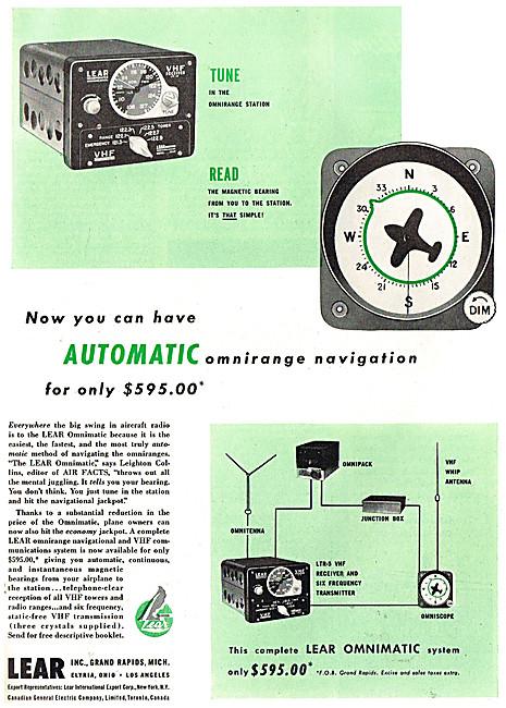 Lear Automatic Omnirange Navigation