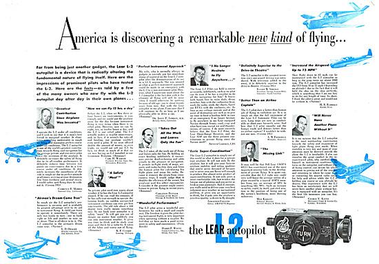 Lear L2 Autopilot 1951