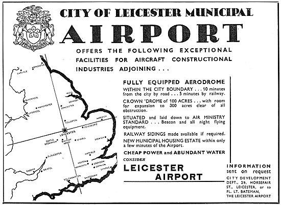 Leicester Airport - Facilties & Opportunities