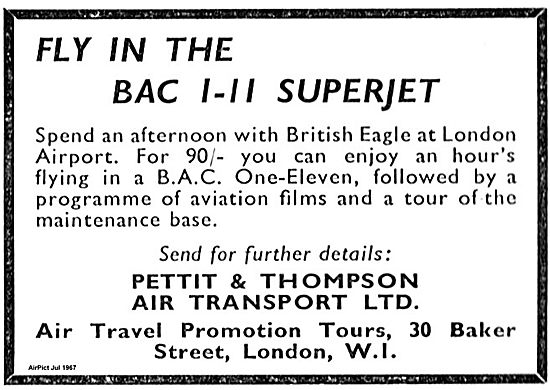Fly In The BAC 1-11 Superjet Experience