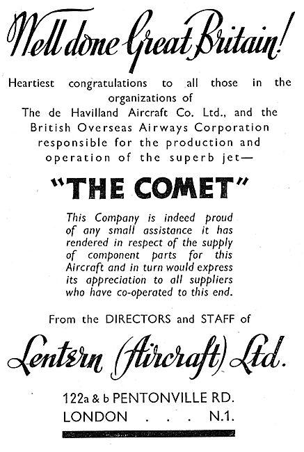 Lentern (Aircraft) Ltd - AGS & Accessories