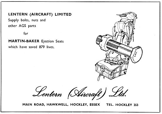 Lentern Aircraft Supplies. AGS Parts