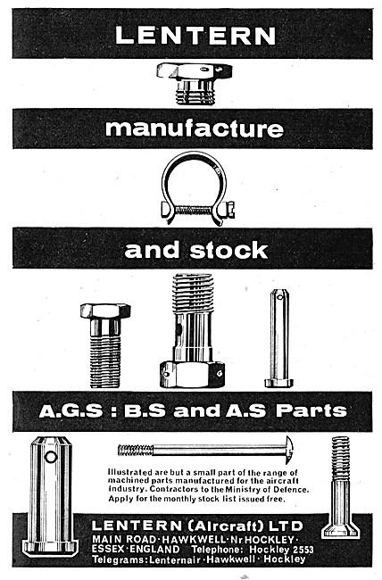 Lentern Fasteners. Lentern AGS, BS & AS Parts