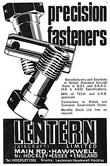 Lentern Precision Fasteners 1971