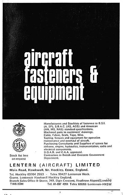 Lentern Aircraft Fasteners & Equipment