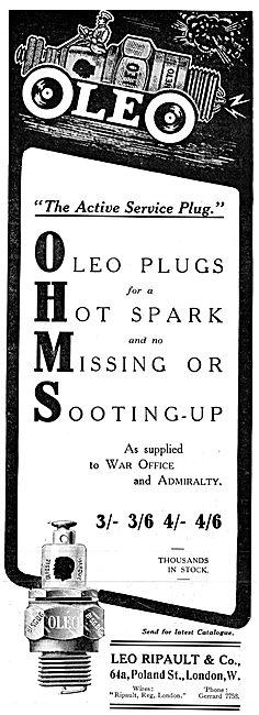 Leo Ripault - Oleo Sparking Plugs