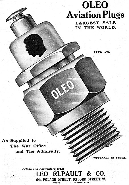 Oleo Aviation Spark Plugs