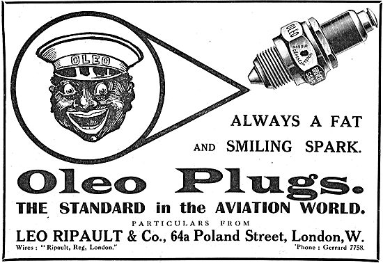 There Always A Fat Spark With Oleo Aviation Plugs