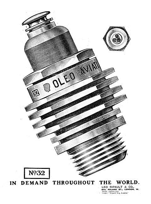 Leo Ripault Oleo Aircraft Spark Plugs