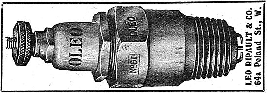 Oleo Aero Engine Spark Plugs