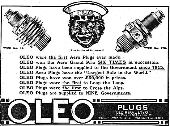 Oleo Plugs Were The First Plugs To Loop The Loop