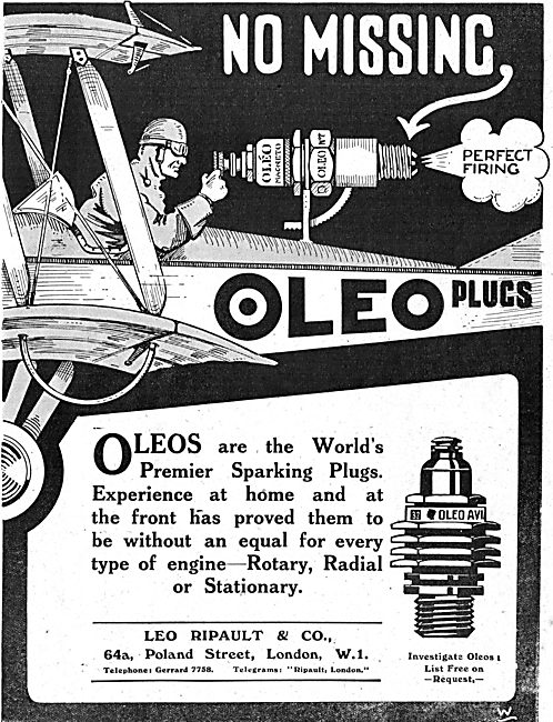 There's No Missing With Oleo Aviation Plugs