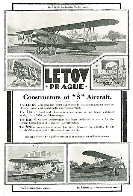 Letov - Prague: Constructors Of