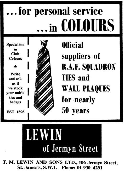 T.M.Lewin Squadron Ties