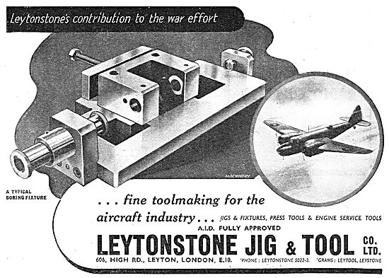 Leytonstone Jig & Tool Co : Machine Tools : Boring Fixture