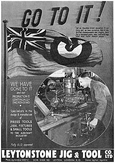 Leytonstone Jig & Tool Co : Machine Tools : Press Tools. Jigs