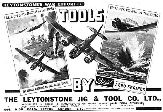 Leytonstone Jig & Tool Co : Machine Tools : Press Tools
