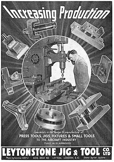 Leytonstone Jig & Tool - Press Tools, Jigs & Fixtures