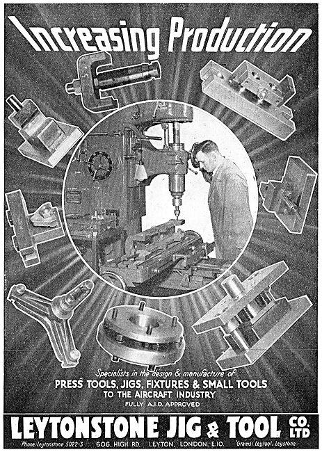 Leytonstone Press Tools, Jigs & Fixtures