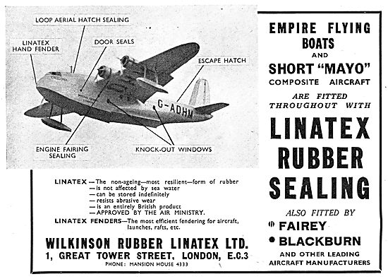 Wilkinson Rubber Linatex Rubber Sealing