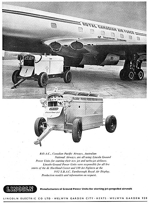 Lincoln Electric Company - Ground Power Units. GPU